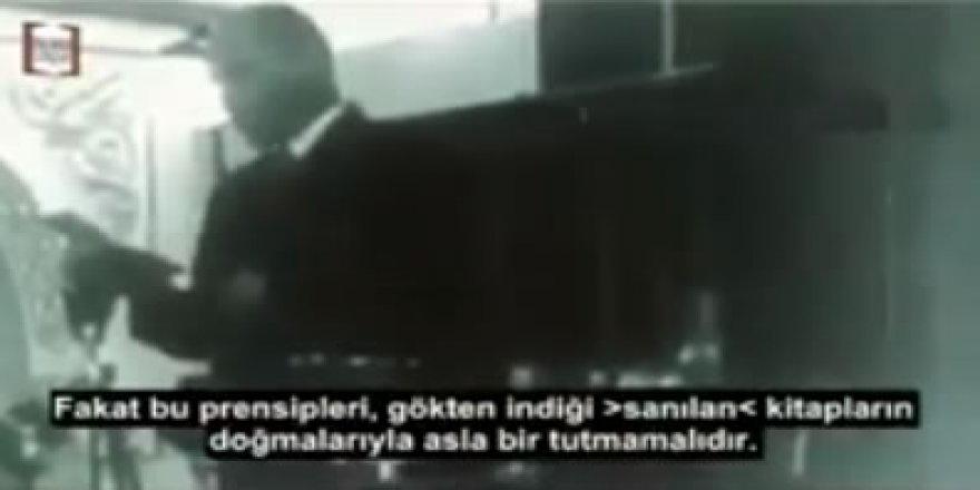 """""""Rahmetli 'Gökten İndiği Sanılan Kitapların Dogmaları' Sayardı İslam'ı, Ama …"""""""