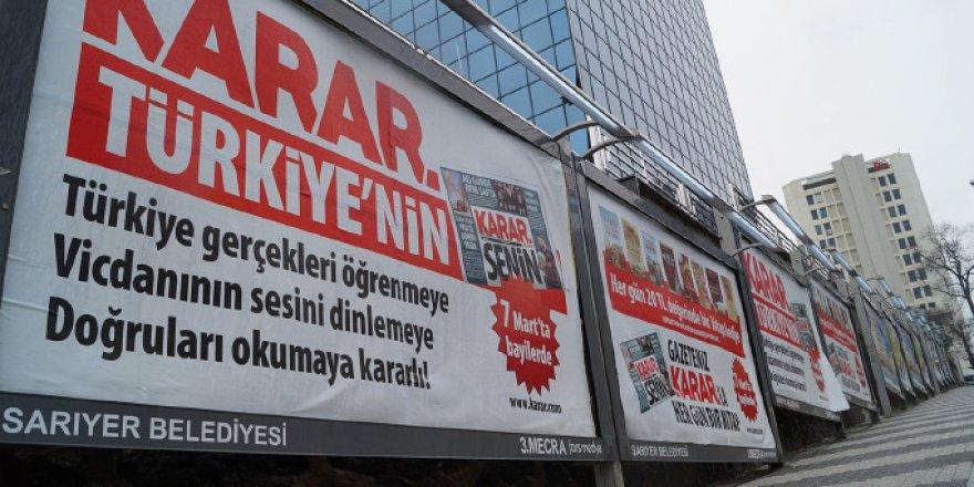 Karar Gazetesi Ambargo ve Baskılara İsyan Etti