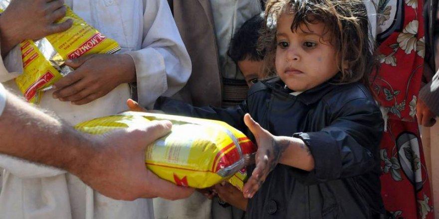 İHH 13 bin Yemenli'ye Gıda Yardımı Yaptı