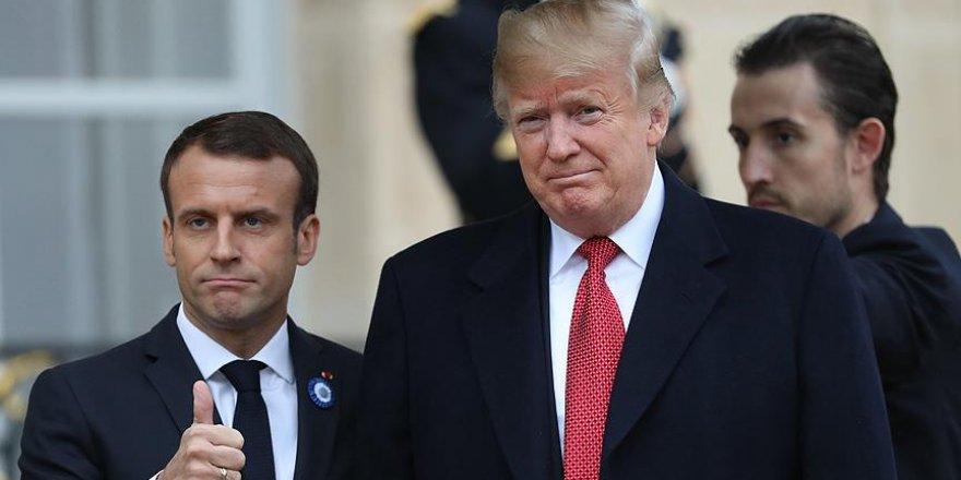 Trump'tan Macron'a 'Avrupa Ordusu' Eleştirisi