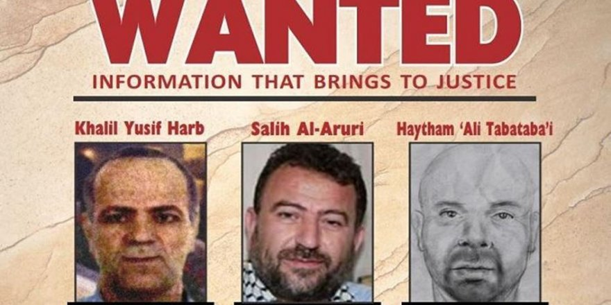 ABD Hamas Lideri Salih El-Aruri'nin Başına 5 Milyon Dolar Ödül Koydu