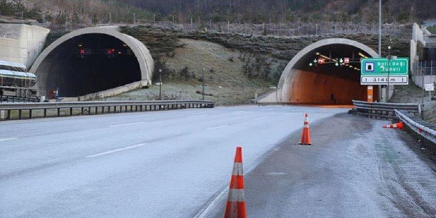 Bolu Dağı Tüneli 20 Gün Kapalı Kalacak!