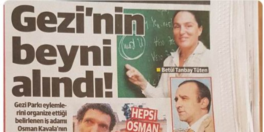 Mustafa Yeneroğlu'ndan Yeni Şafak'a Kavala Tepkisi