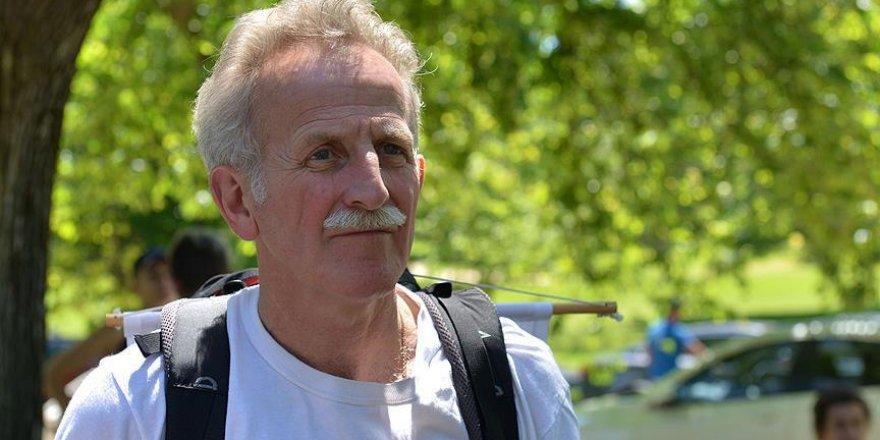 Avustralyalı Aktivist Filistin İçin 727 Kilometre Yürüyecek