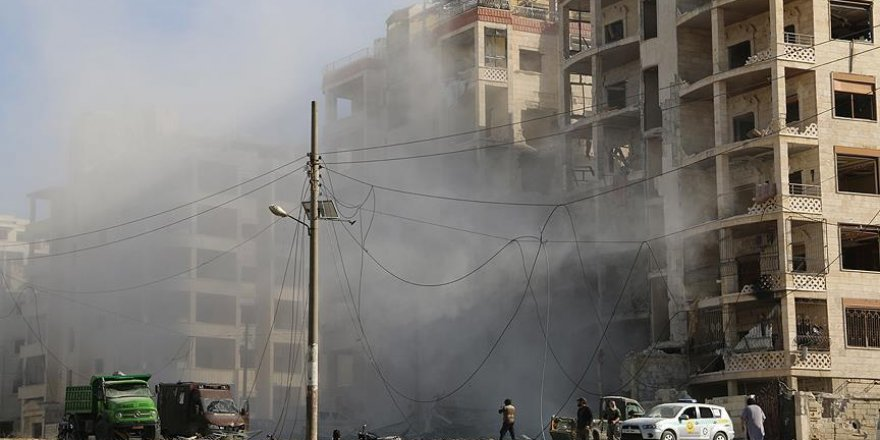 Katil Esed Rejiminden İdlib'e Saldırı: 5 Ölü