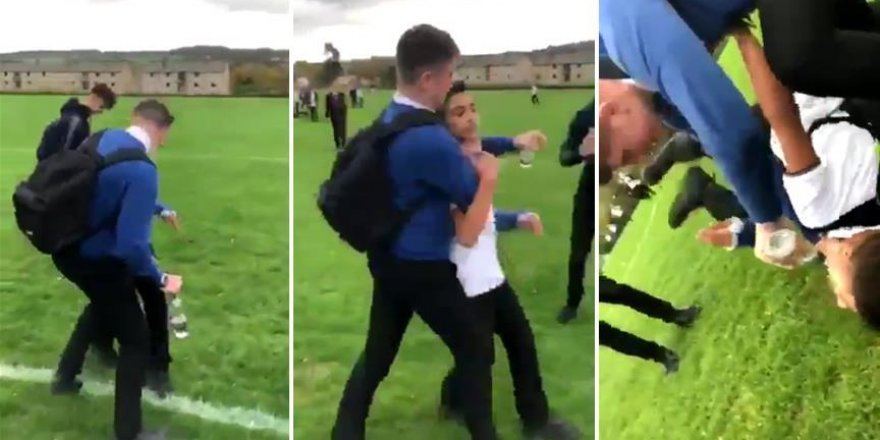 İngiltere'de Mülteci Çocuğa Saldıran Irkçı Öğrencilere Nefret Suçu Soruşturması
