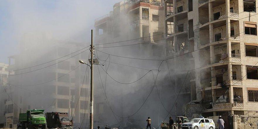 Esed ve İşbirlikçileri İdlib'i Karadan Vuruyor