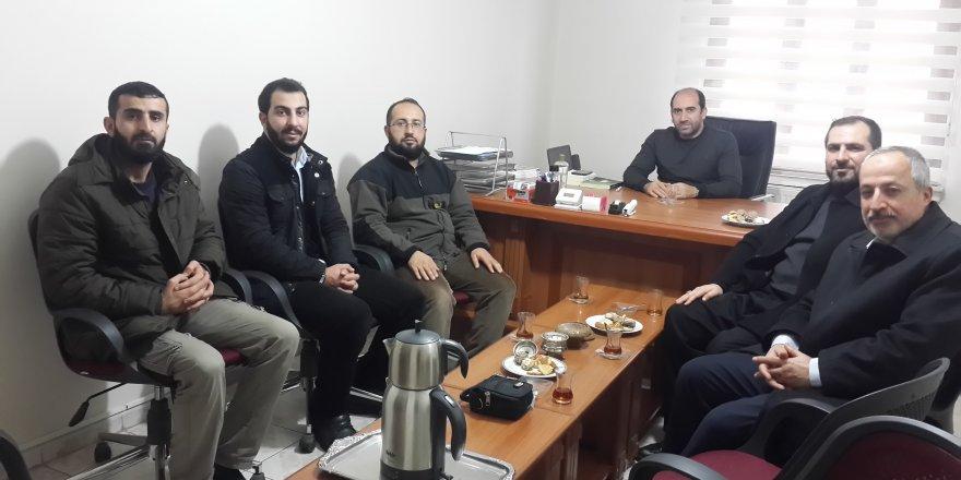 Sâbikûn Derneği'nden Diyarbakır Özgür-Der'e Ziyaret