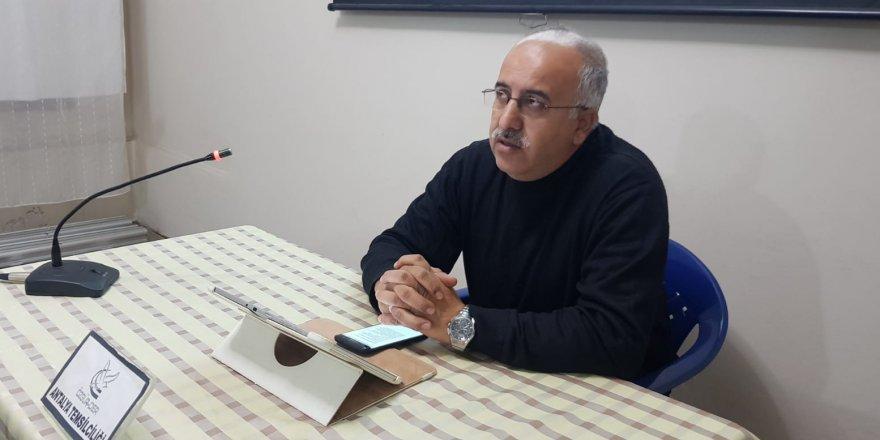 """Antalya Özgür-Der'de """"Medine Dönemi ve Hicret"""" Semineri Yapıldı"""