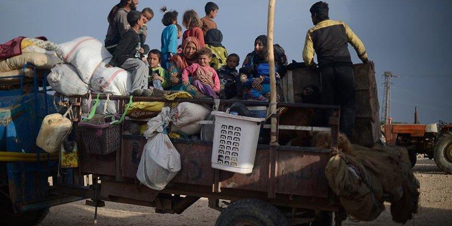 Esed Rejimi 2018'de Yaklaşık 130 Bin Kişiyi Zorla Göç Ettirdi