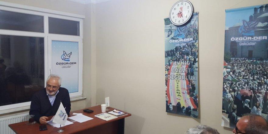 Üsküdar Özgür-Der'de 'Zikir' Kavramı Konuşuldu