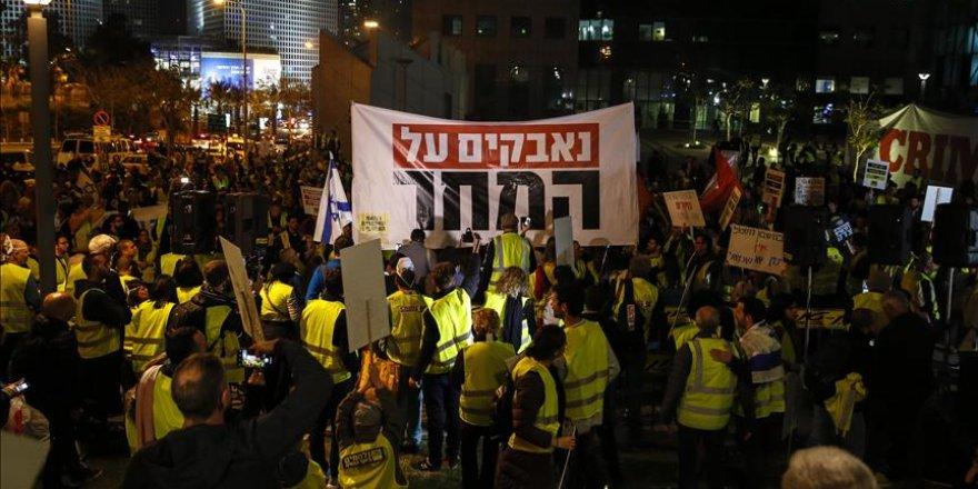 'Sarı Yelekliler' Eylemi Siyonist İsrail'e Sıçradı!