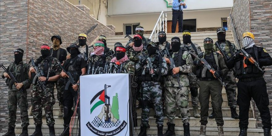 Filistinli Direniş Gruplarından İşgalci İsrail'e Uyarı