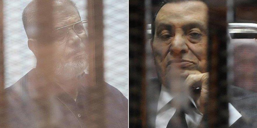 Mursi ve Mübarek İlk Kez Mahkemede Yüzleşti