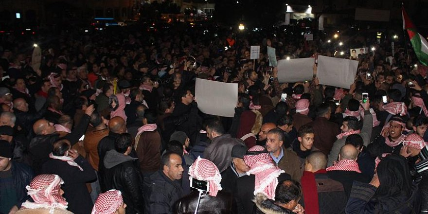 Ürdün'de Hükümet Karşıtı Gösteriler Devam Ediyor