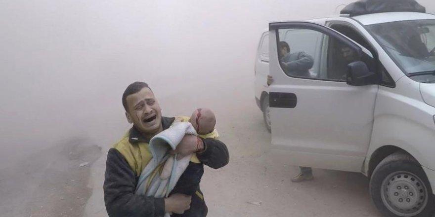 Suriye'de Geçen Yıl 223 Katliamda 2 Bin 741 Sivil Öldü