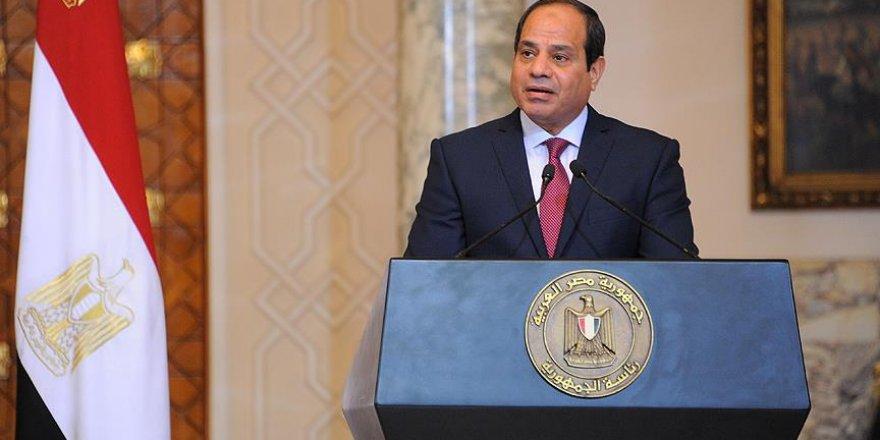 """Sisi Cuntası: """"Libya'da Hafter'i Destekliyoruz"""""""