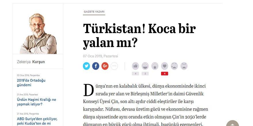Doğu Türkistan Gündemi CIA Kurgusu veya Komplosu mudur? (14 Ocak2019 )