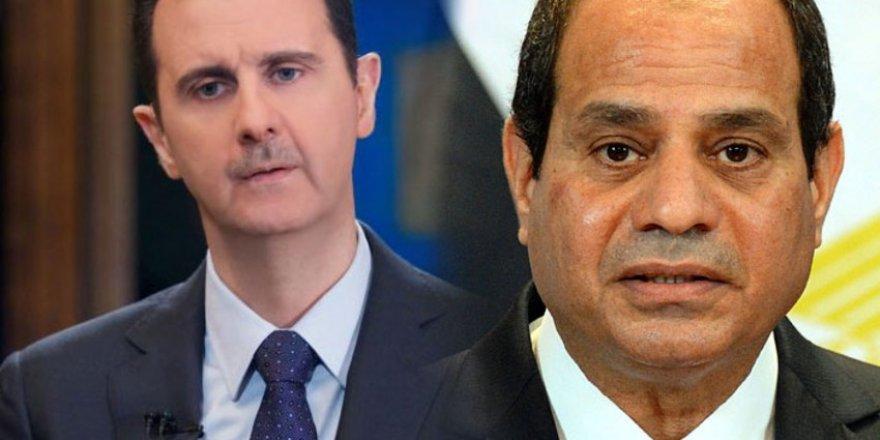 Sisi Cuntasından Esed Rejimine 'Arap Birliği'ne Dönüş Hazırlıkları Yap' Çağrısı