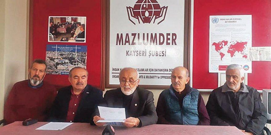 """""""Mazlumun Çilesi 2018'de de Bitmedi!"""""""