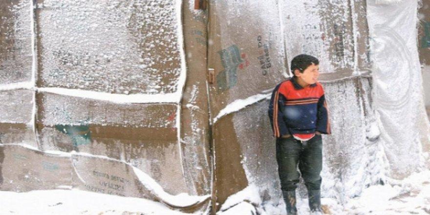 Suriyeli Yetimler Isınmak İçin Yardımlarımızı Bekliyor