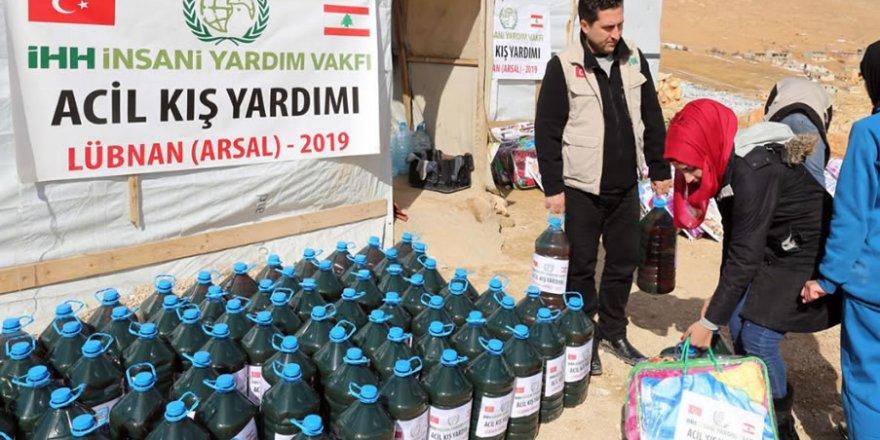 Acil Yardım Çağrısının Yükseldiği Arsal'a İHH'dan Yardım