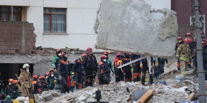 Kartal'da Binanın Çökmesi Sonucu Ölenlerin Sayısı 10'a Yükseldi
