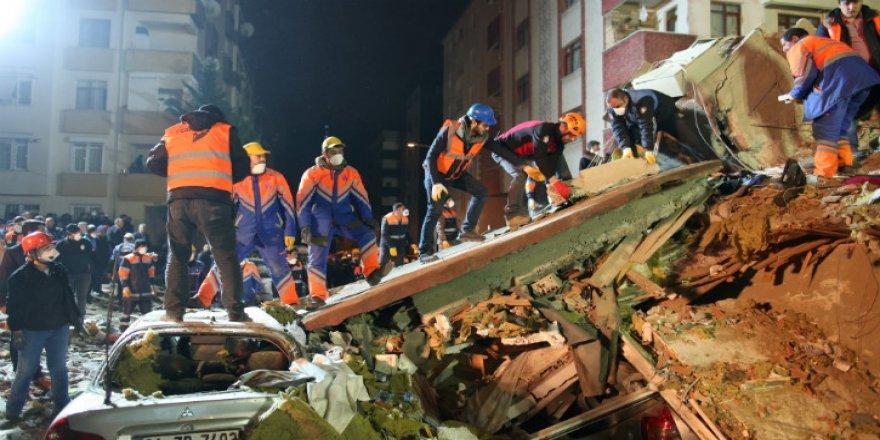 Kartal'da Çöken Binanın Bilançosu Açıklandı