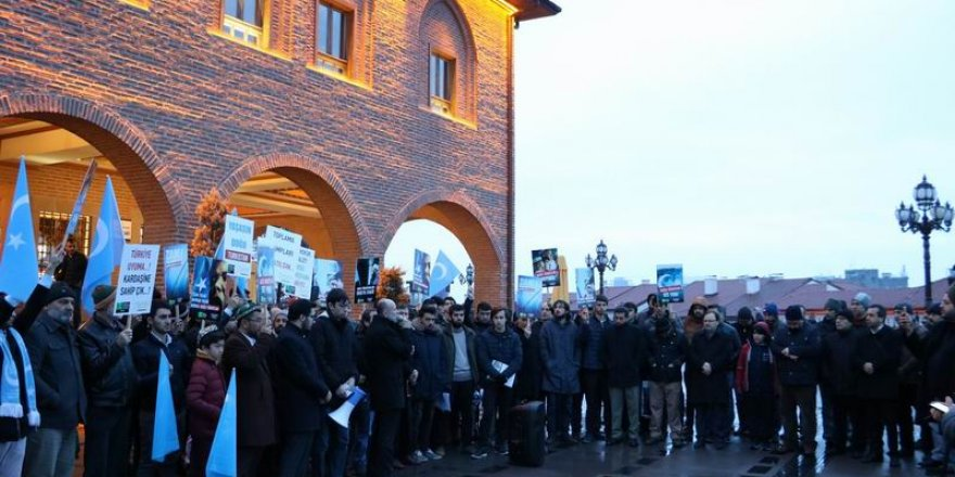 Ankara'da Doğu Türkistan İçin Dua Edildi