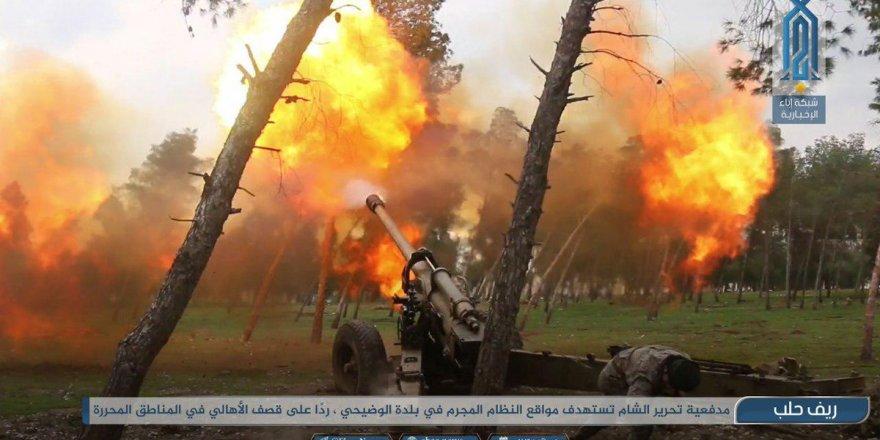Direnişçilerden Han Şeyhun'da Sivillere Saldıran Katillere Misilleme