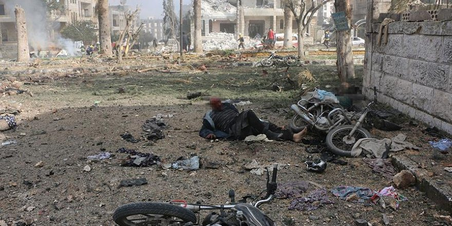 İdlib'de Art Arda Bombalı Araç Saldırıları