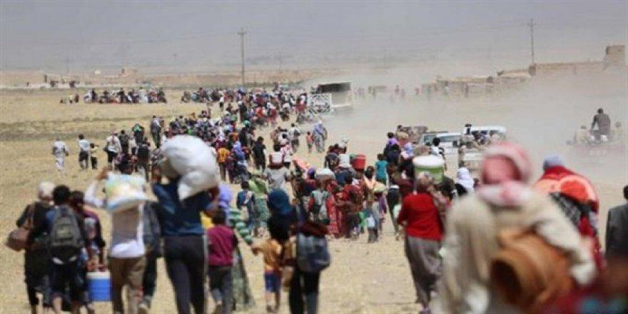 İdlib'de 25 Bin Aile Yerinden Edildi