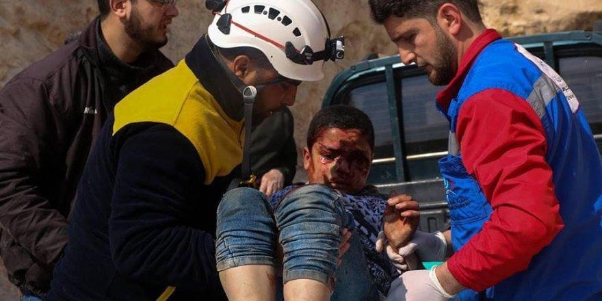 Esed ve Patronu İran İdlib'de Yine Sivillere Saldırdı