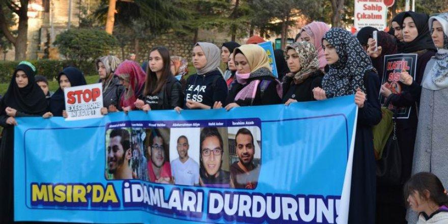 Sisi Yargısının İdam Kararları Amasya'da Protesto Edildi!