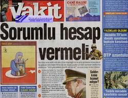 Özgür-Der, Vakit'i Susturma Çabalarını Kınadı!