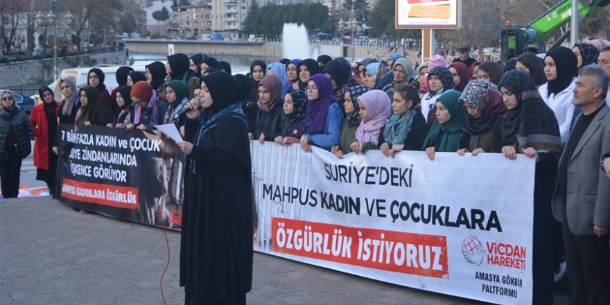 Amasya'dan Vicdan Hareketi'ne Destek