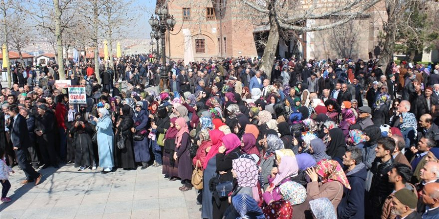 Vicdan Hareketi'ne Ankara'dan Destek