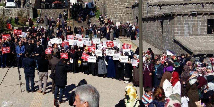 Diyarbakır'da Vicdan Hareketine Destek Eylemi
