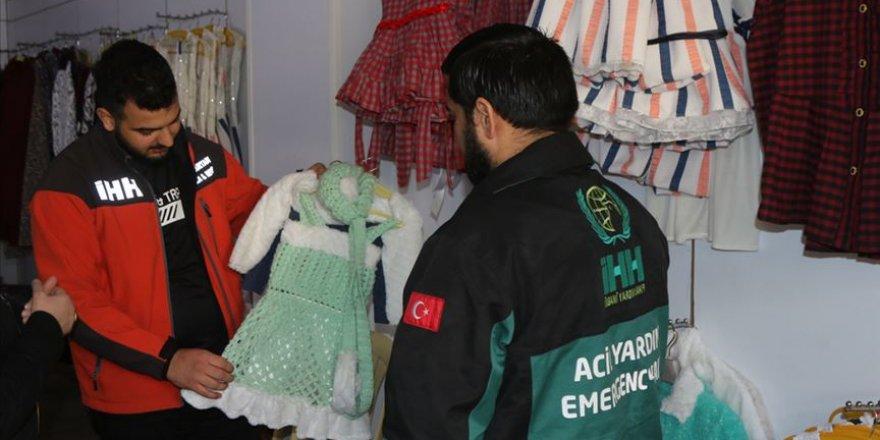 İHH Suriye'de Hayır Mağazaları Açıyor