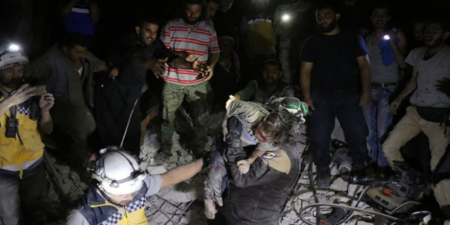 Suriye'de Bin 109 İnsani Yardım Çalışanı Öldürüldü