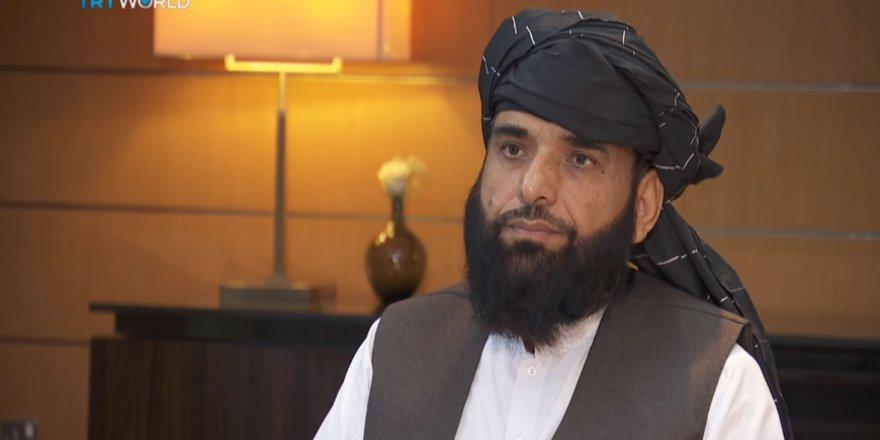 TRT World Taliban'ın Siyasi Ofis Sözcüsü Süheyl Şahin ile Röportaj Yaptı