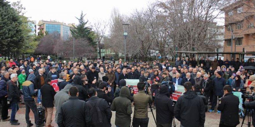 Ankara'da Yeni Zelanda Katliamına Protesto