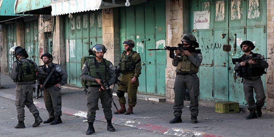 Batı Şeria'da Filistinlilere Ait Ev ve Dükkanlara Baskın