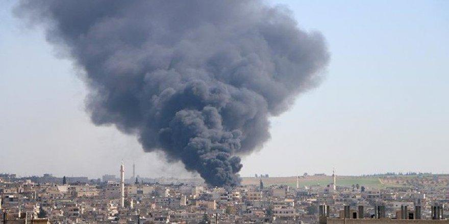 İdlib'de Saldırılar Sürüyor