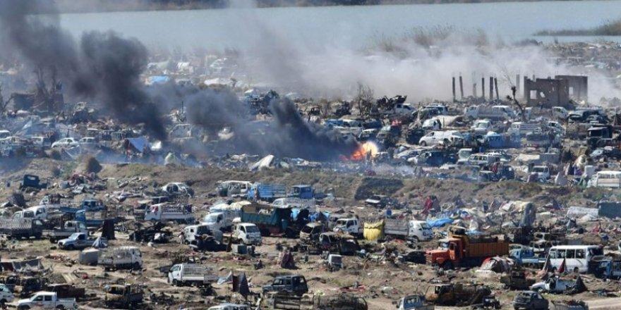 ABD ve YPG Bağuz'da Yaklaşık 2 Bin Kişiyi Katletti