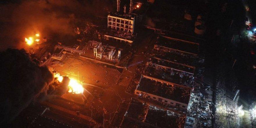 Çin'deki Kimya Tesisinde Patlama:44 Kişi Öldü,640 Kişi Yaralandı