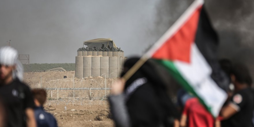 İsrail Gazze'de 2 Filistinliyi Şehit Etti