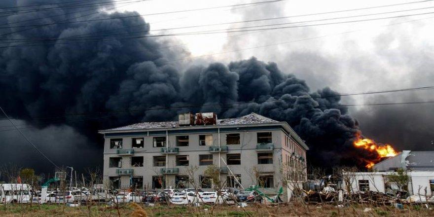 Çin'de Kimya Tesisindeki Patlamada Ölü Sayısı 64'e Yükseldi