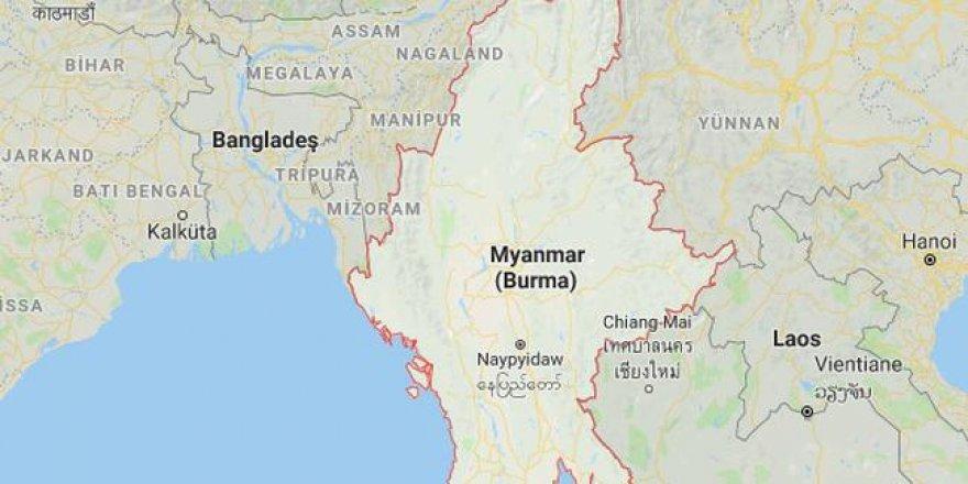 Myanmar'da Depoda Patlama: 16 Kişi Hayatını Kaybetti