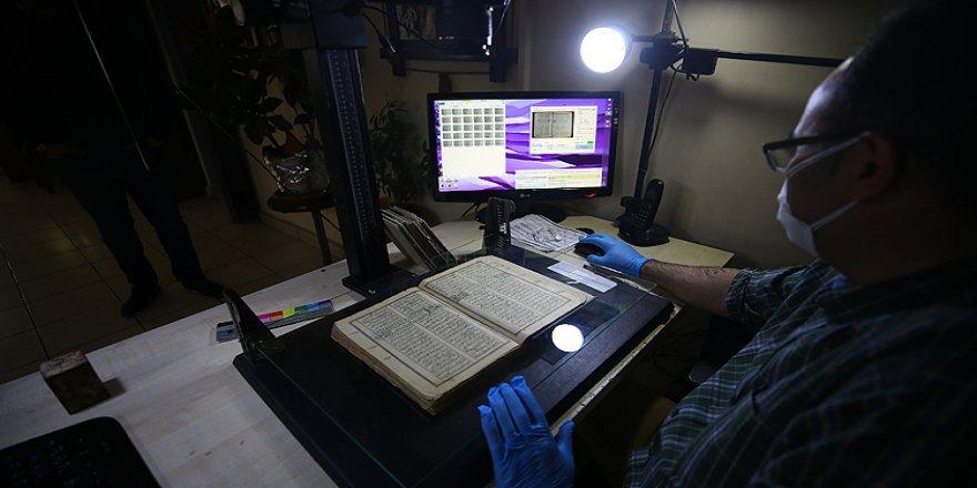 Binlerce Yıllık Nadide Yazma Eserler Dijital Ortama Aktarıldı